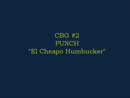 CBG#2 - El Cheapo Humbucker