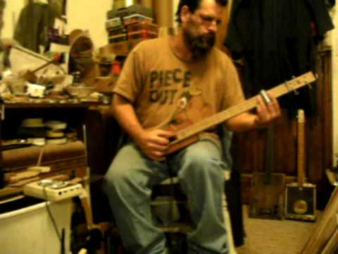 red brick guitar--ted crocker tesla pickup