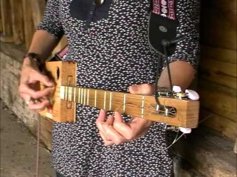Amy - from new album. Played on a 3 string Cigar Box Strummer