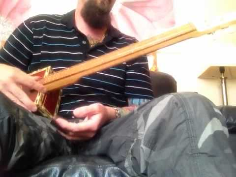 Messing around with my Cigar Box Guitar