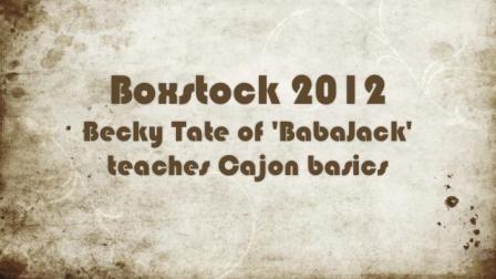 Cajon Class - Becky Tate, BabaJack