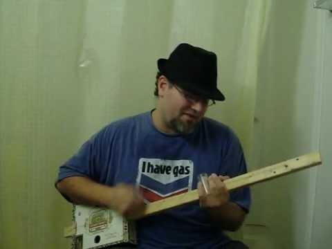"""""""Sweet Home Chicago"""" on Diddley Bow"""