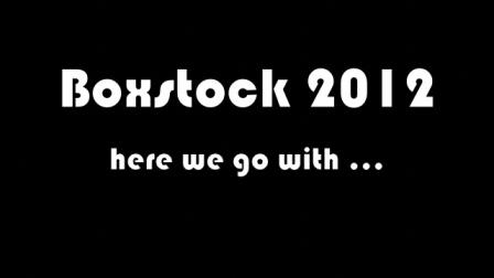 Boxstock 2012 Précis