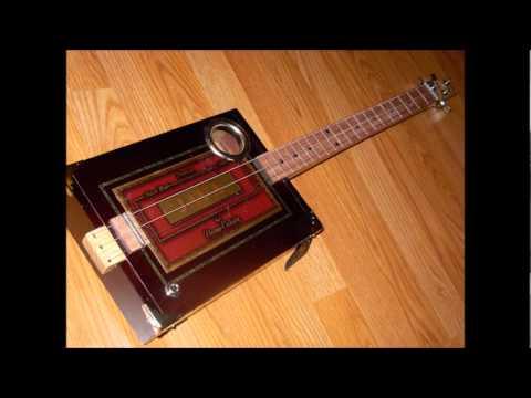Saner Cigar Box Guitars
