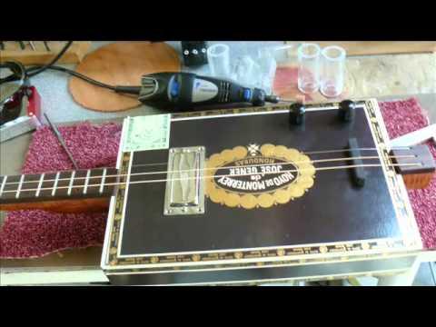Marcelus Cigar Box guitar      Essai