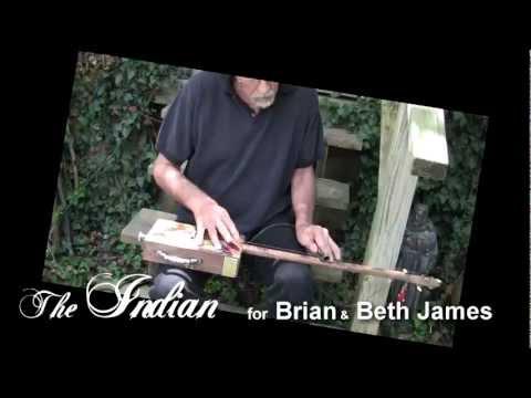 The Indian - Cigar Box Guitar