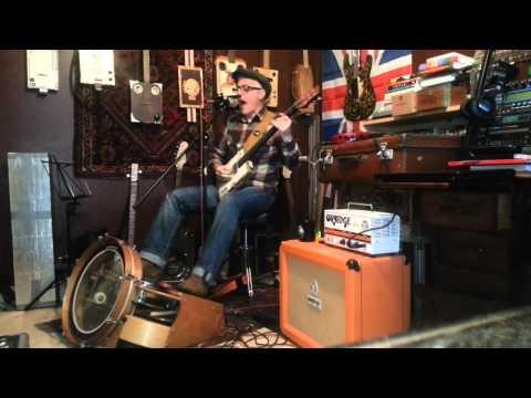 Pushin My Luck - Played on Smokehouse Guitars CBG with Farmer Footdrums