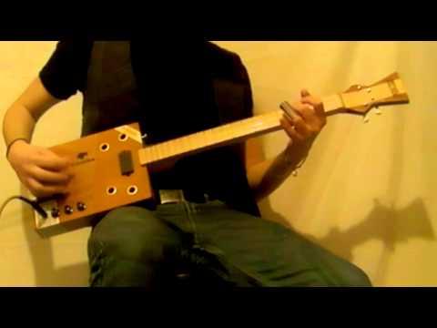 Dustbowl 005 Cigar Box Guitar Demo