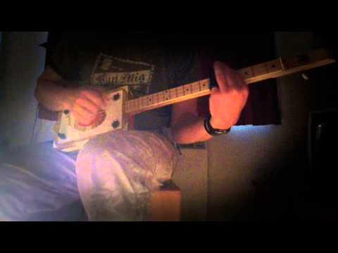 Cigar Box Guitar Video to go with my newly built Arturo Fuente CBG.