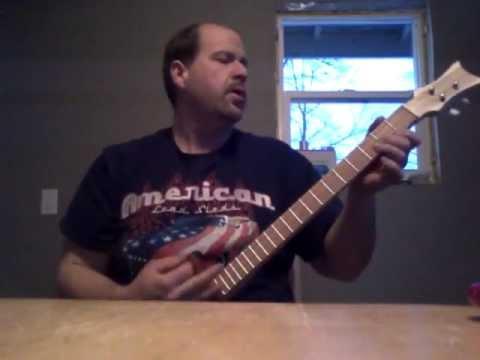 Todd's guitar sound check