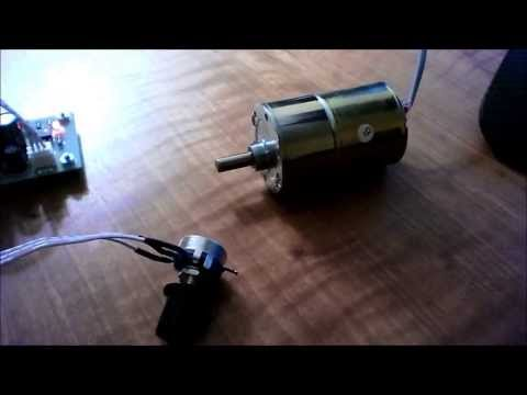 Pickup Winder Motor Test