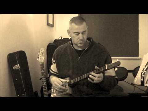 Stompin' Hogg Cigar Box Guitars - Whiskey Creek