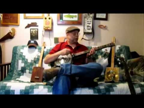 My Babe ~ old blues on a GDg hubcap guitar- Wes Carl amp