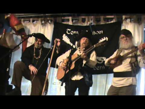 Tom Mason and The Slim Panatellas The Pirates Song Tea Posy Dingwall May 18 2013