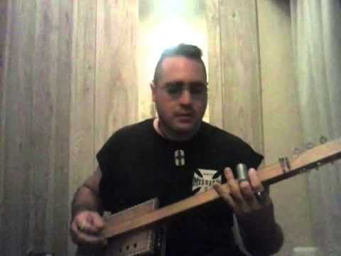 Bruce Hornsby - The Way It Is - three string slide cigar box guitar