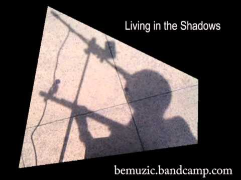 Living In The Shadows - Outside Poundland in Huntingdon (Rock & Roll!)