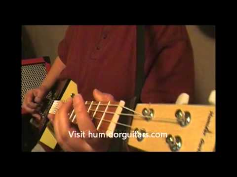 "Humidor Guitars-original tune-""Half Rack"""