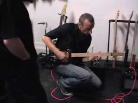 2nd Cambridge Cigar Box Guitar Fest - This guy had never played a CBG before!