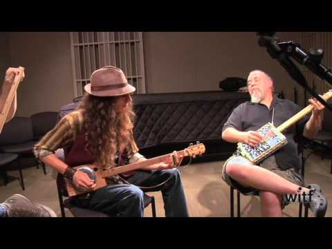 Cigar Box guitar jam session 3