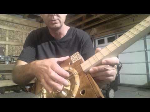 Lowe Cone Resonator Guitar Build
