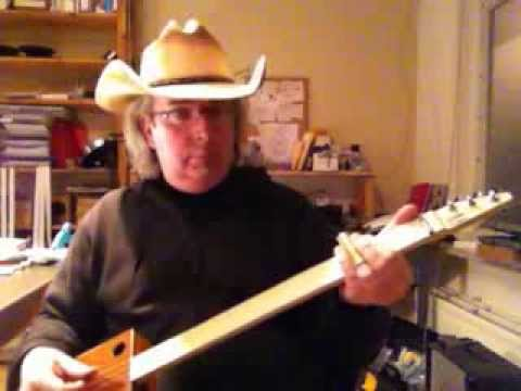 Another Tea Box Guitar by Gumbo Guitars