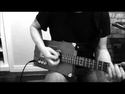 Just Playing On Gregster Cigar Box Guitar 2