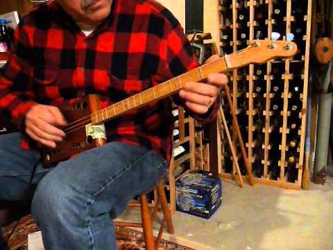 HOLIDAY MEDLEY  CIGAR BOX GUITAR