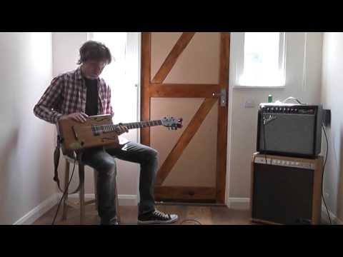 6 String Cigar Box Guitar - Sound Test