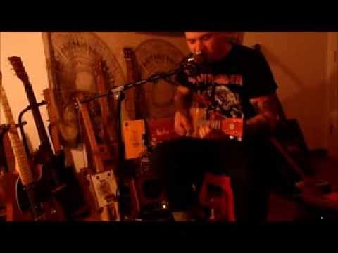 """Cigar Box Guitar Cover - The Ramones """"I Don't Want To Grow Up"""""""