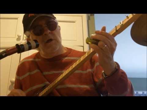 Cigar Box Guitar - Louisiana Blues