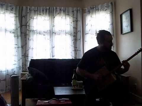 "Six String ""Ace of Spades"" Cigar Box Guitar"