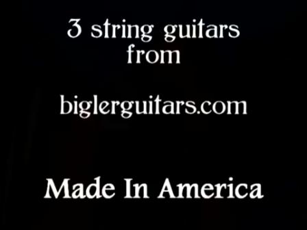 ~The American Anthem 2 0 ~ The New Star Spangled Banner~ 3 string guitars from Biglerguitars com