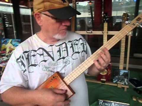 Retro Al of Retro Al's Cigar Box Guitars