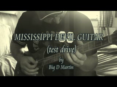 MISSISSIPPI DEVIL GUITAR