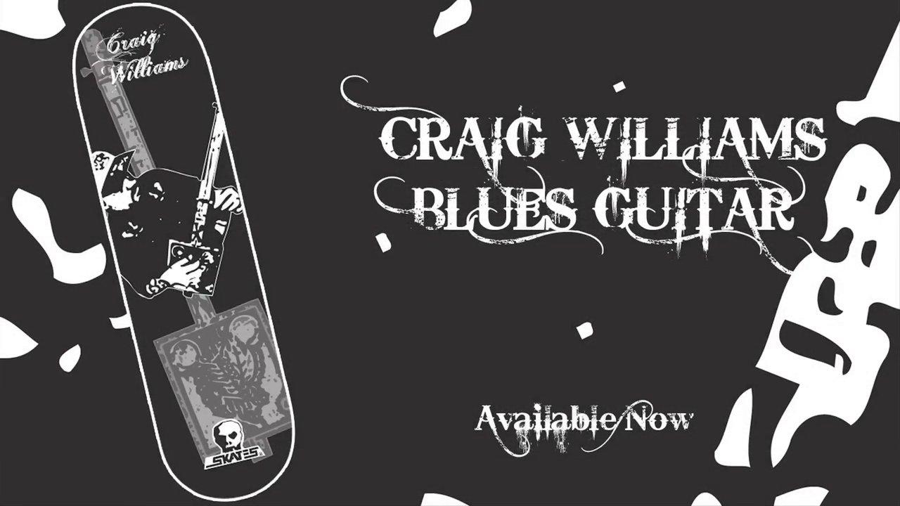 Skull Skates Blues Guitar