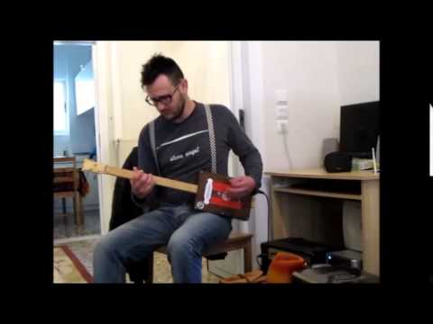 cigar box guitar sound test