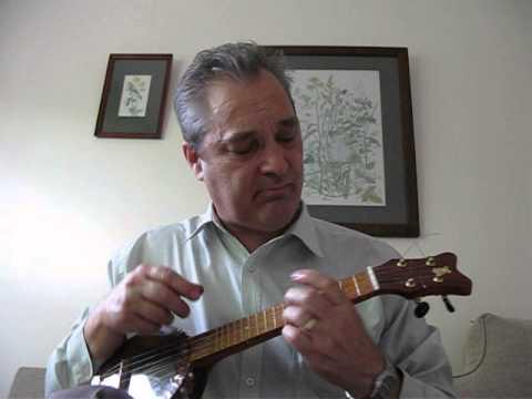 Demo of home made banjo Uke