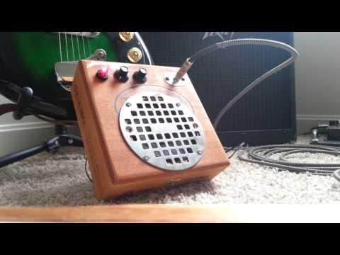 Cigar Box Amplifier Test