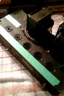 1947 Gibson BR-6 tube amp restoration