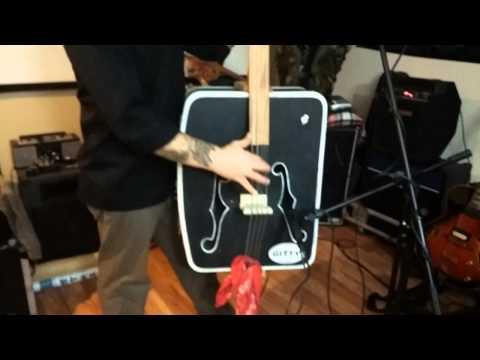 DIY Upright Suitcase Bass... Part II