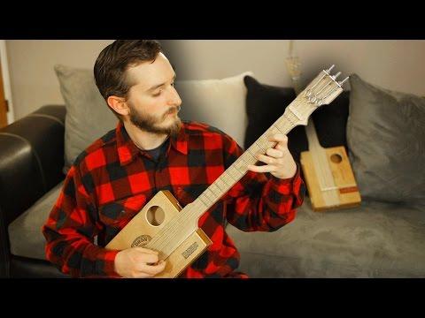 DIY: Fretted Cigar Box Guitar