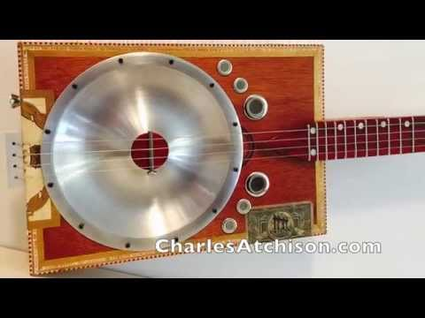 Cigar Box Guitar Resonating Cones