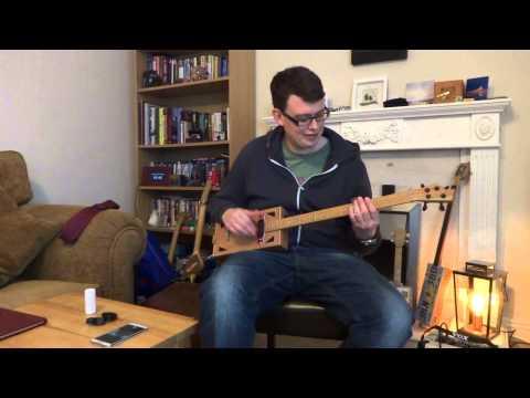 Diddley Bros 4 string CBG - 'let her go' by half deaf clatch