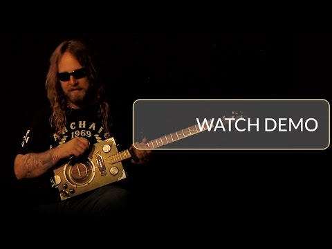 Delta Star Deluxe & Pro Series Cigar Box Resonator Guitars