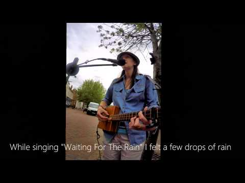 I Can Control The Weather!! (Busking in Ely with a Cigar Box Guitar)