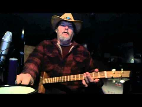 Old Timey Rock Jam on The Cigarbox Guitar