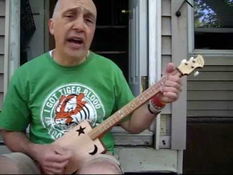 Learn Twist and Shout by The Beatles on Cigar Box Guitar