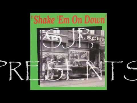 Shake ém On Down    A D Eker   lyrics fred Mc Dowell  2015