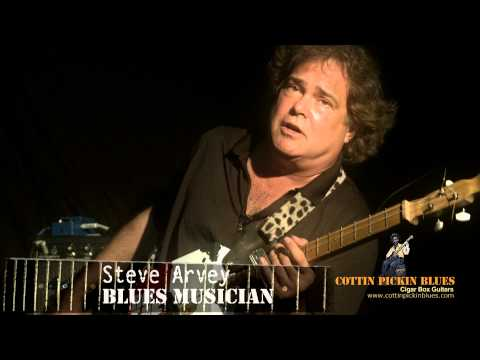 Cottin Pickin Blues - Cigar Box Guitars