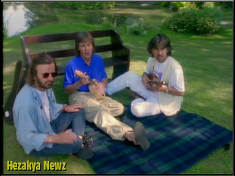 "The Beatles REUNION At ""Friar Park"" In 1994!!"